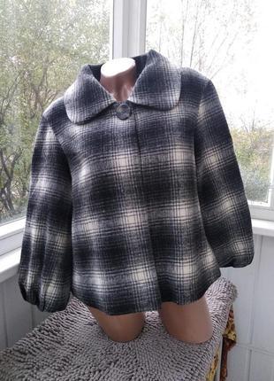 Шерстяное пальто south collection