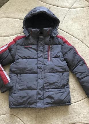 Зимняя куртка мальчику kiko 164 см