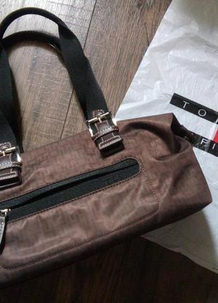 Маленька текстильна сумка tommy hilfiger