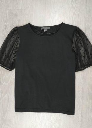 Блуза с рукавами фонариками