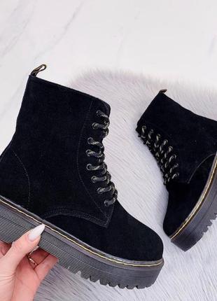 Ботинки зимние из натурального замша 🔥🔥🔥