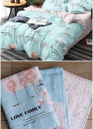 Постельное белье деревья family, постельное с деревьями
