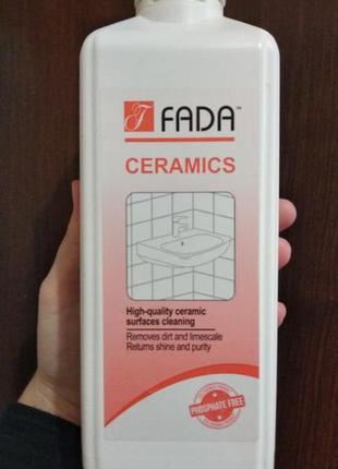 Засіб мийний для ванних кімнат fada керамiка