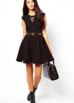 Платье черное river island