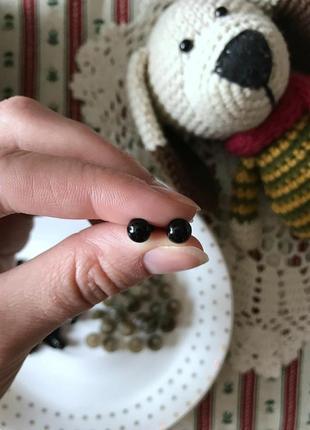 Безопасные глазки для игрушек 6 мм