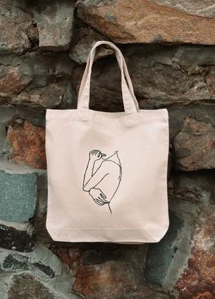 Еко -сумка від •tse torba•стильний шоппер•экосумка•
