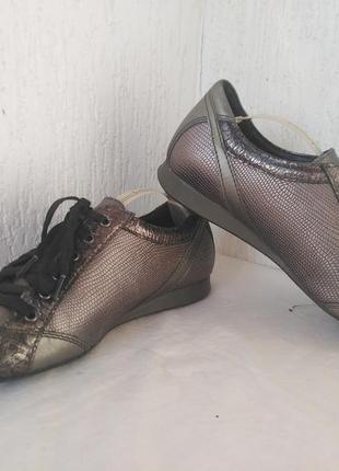 Спортивние туфли,кроссовки кожанние mephisto р.35.5