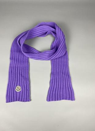 Оригинальный шарф от moncler