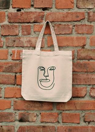 Еко -сумка від •tse torba•стильний шопер