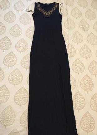Платье длинное , макси с-м