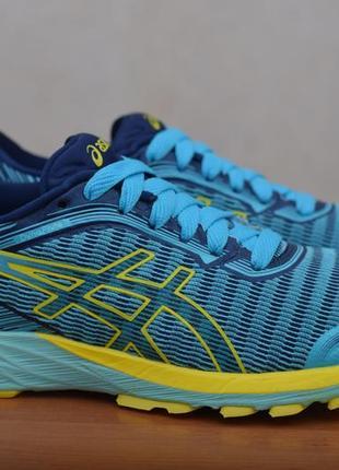 Голубые беговые кроссовки asics dynaflyte, 39 размер. оригинал
