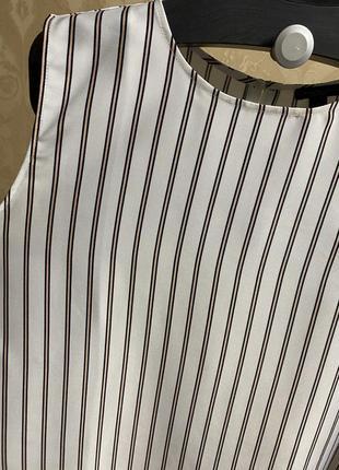 Майка блузка ann taylor в полоску4 фото