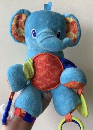 Слон слоник bright starts типа lamaze подвеска развивающая