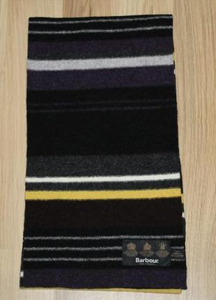 Шерстяний шарф шерстяной шарф barbour