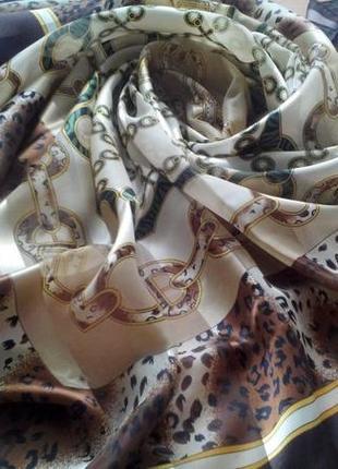 Шикарный большой платок, 102х97