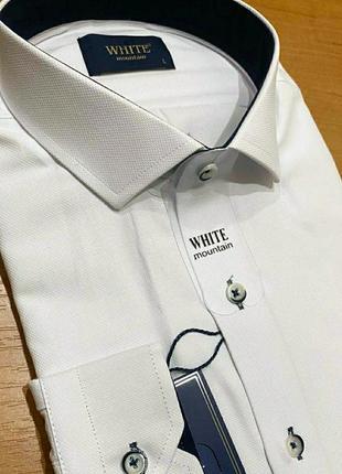 Мужская рубашка,ткань оксфорд.