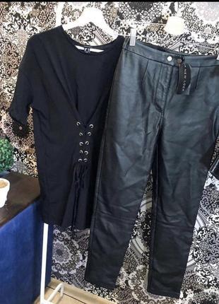 Идеальные кожаные штаны от new look🖤