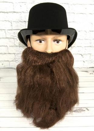 Маскарадный костюм борода гнома лешего