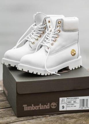 Ботинки зимние tіmberland код 0592