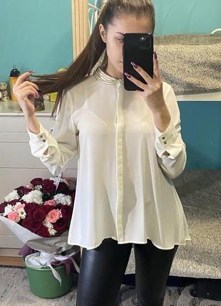 Базовая шифоновая рубашка