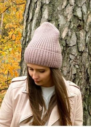 Базова шапка в рубчик тепла
