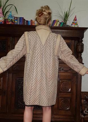 Меховое пальто / дублёнка