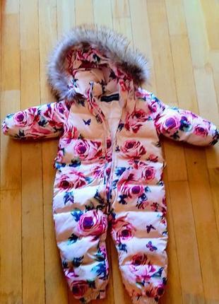 Зимний детский комбинезон d&g