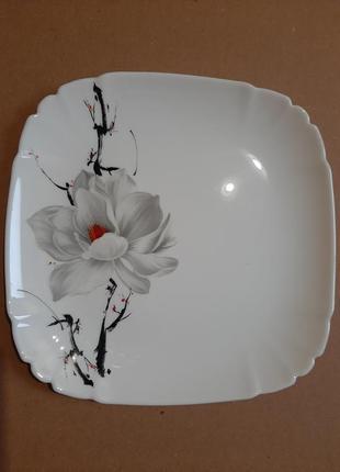 Тарелка 21см,стеклокерамика