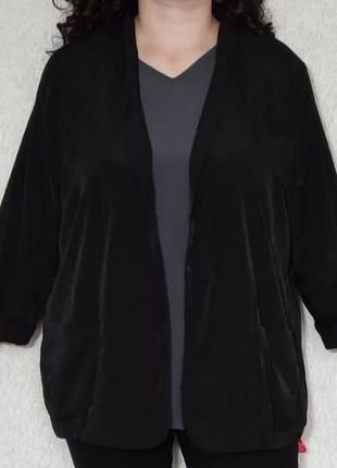 Стильный кардиган, пиджак с карманами