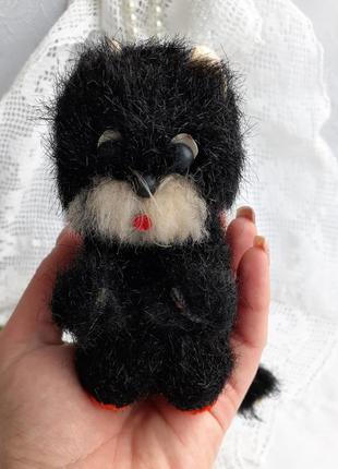 Котенок ссср каркасная игрушка мягкая плюшевый прессопилки кот котик советский