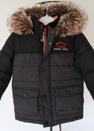 Зимова курточка для хлопчика в ідеальному стані, розмір 98
