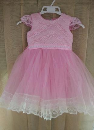 Пышное платьеце