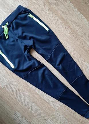 Утепленные спортивки штаны 10-11лет