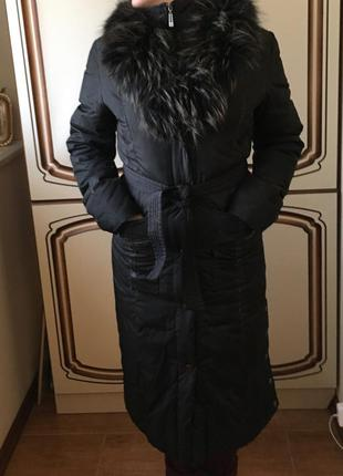 Женский зимний пуховик snow owl