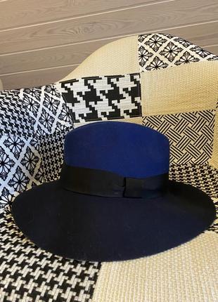 Стильная шерстяная шляпа