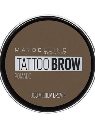 Помадка для бровей maybelline new york tattoo brow