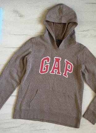 Худи батник кофта с лого gap, размер xs/s, худі батнік кофта gap, розмір хс/с