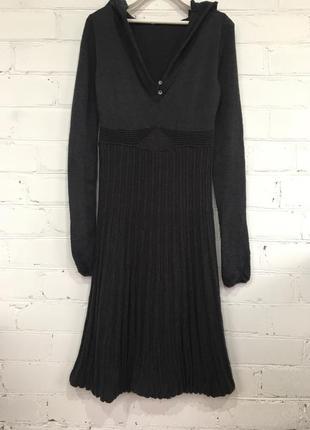 Шерстяное платье италия tandem