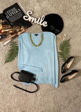 Базовый нежный джемпер пуловер №111