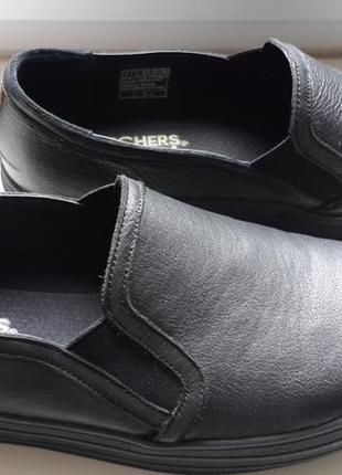 573b1023a55f Кожаные слипоны skechers мягенькие и удобные Skechers, цена - 500 ...