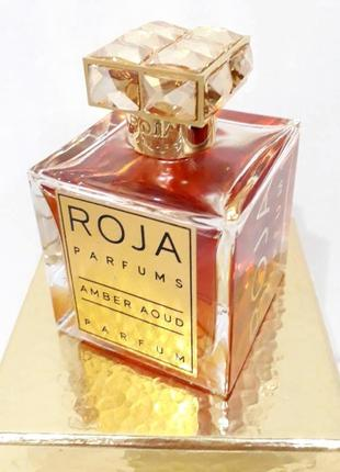 Roja parfums amber aoud_original_eau de parfum 5 мл затест туал.духи