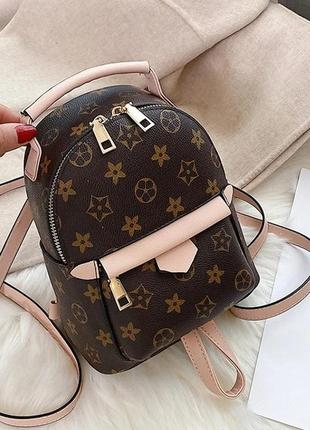 Женский мини рюкзак-сумка 2в1