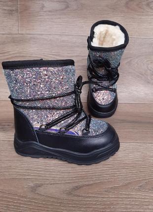 Зимние ботинки, сапоги, ботинки для девочек, ботиночки, луноходы, угги