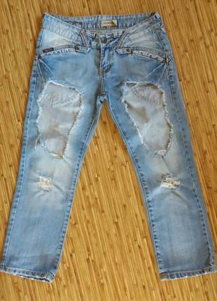 Укороченные джинсы!!!
