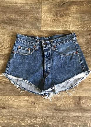 Короткое джинсовые шорты levis 615 оригинал