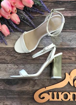 Неординарные босоножки asos с мраморным каблуком    sh2581    asos