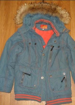 Зимняя куртка на мальчика urban mix