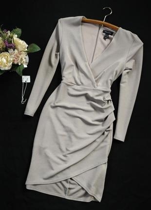 Плаття на запах, new look