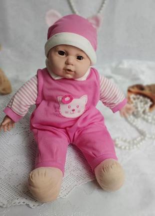 Кукла малыш пупс винтаж мягконабивной карапуз в одежде куколка