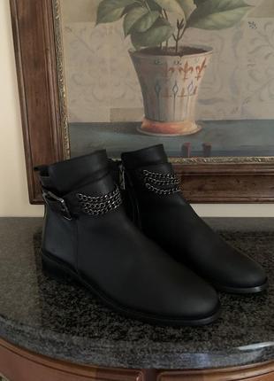 Ботинки кожаные турецкие